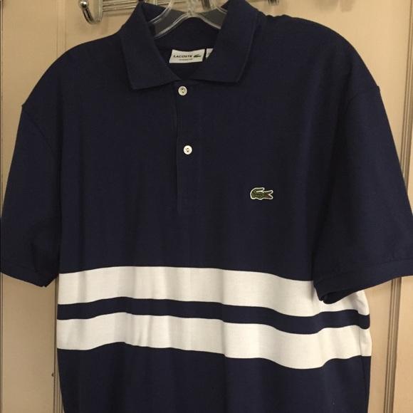 NEW Lacoste Men's Polo Shirt Size XL Classic Fit